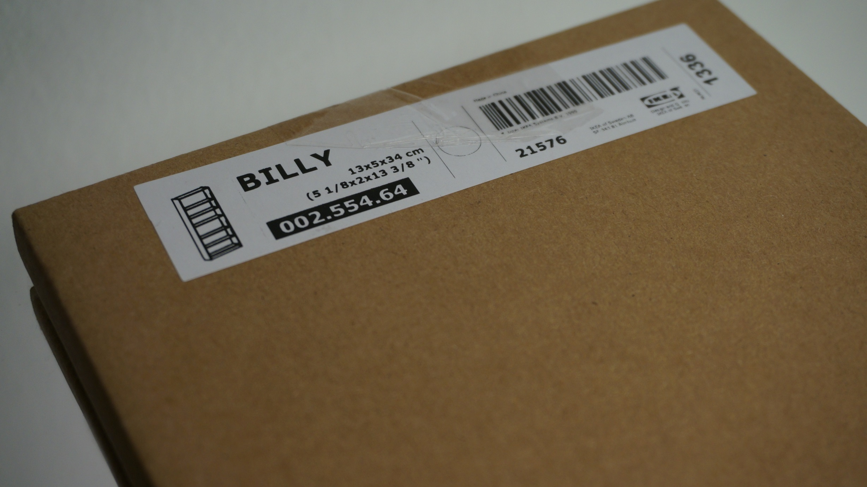 IKEA Billy Nagellackaufbewahrung