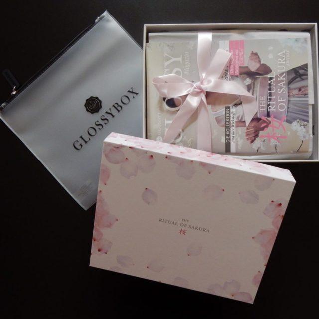 In  mit der neuen glossyboxat cherryblossom rituals glossybox bbloggerhellip