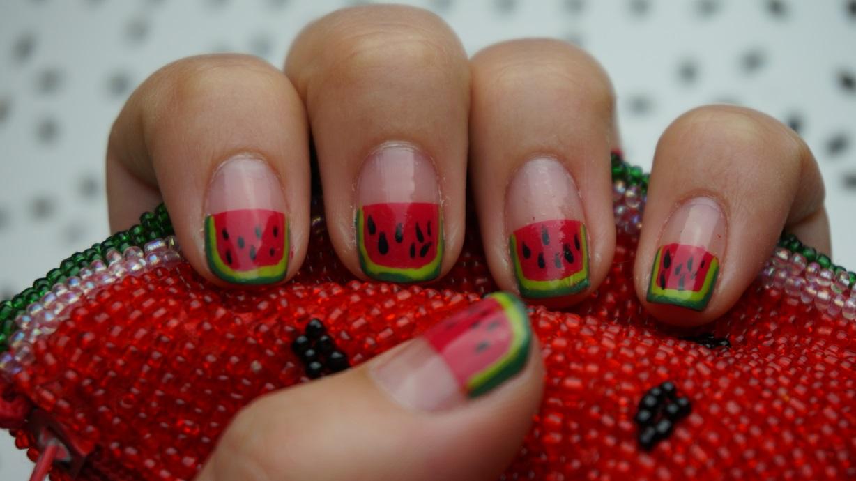 Nailart Wassermelonen