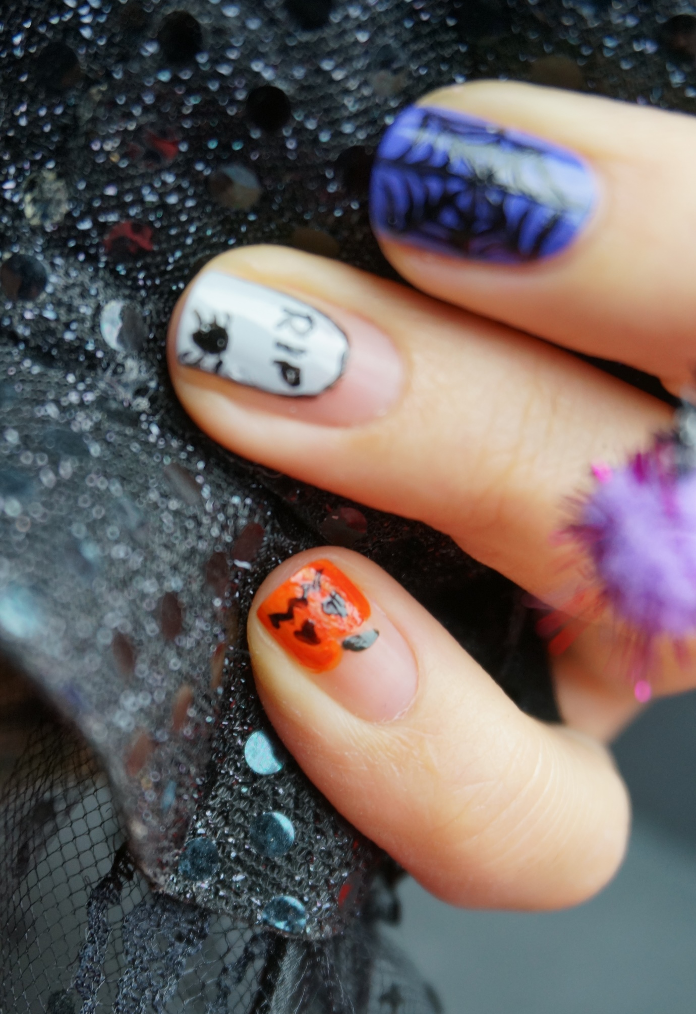 Nailart Halloween Part I