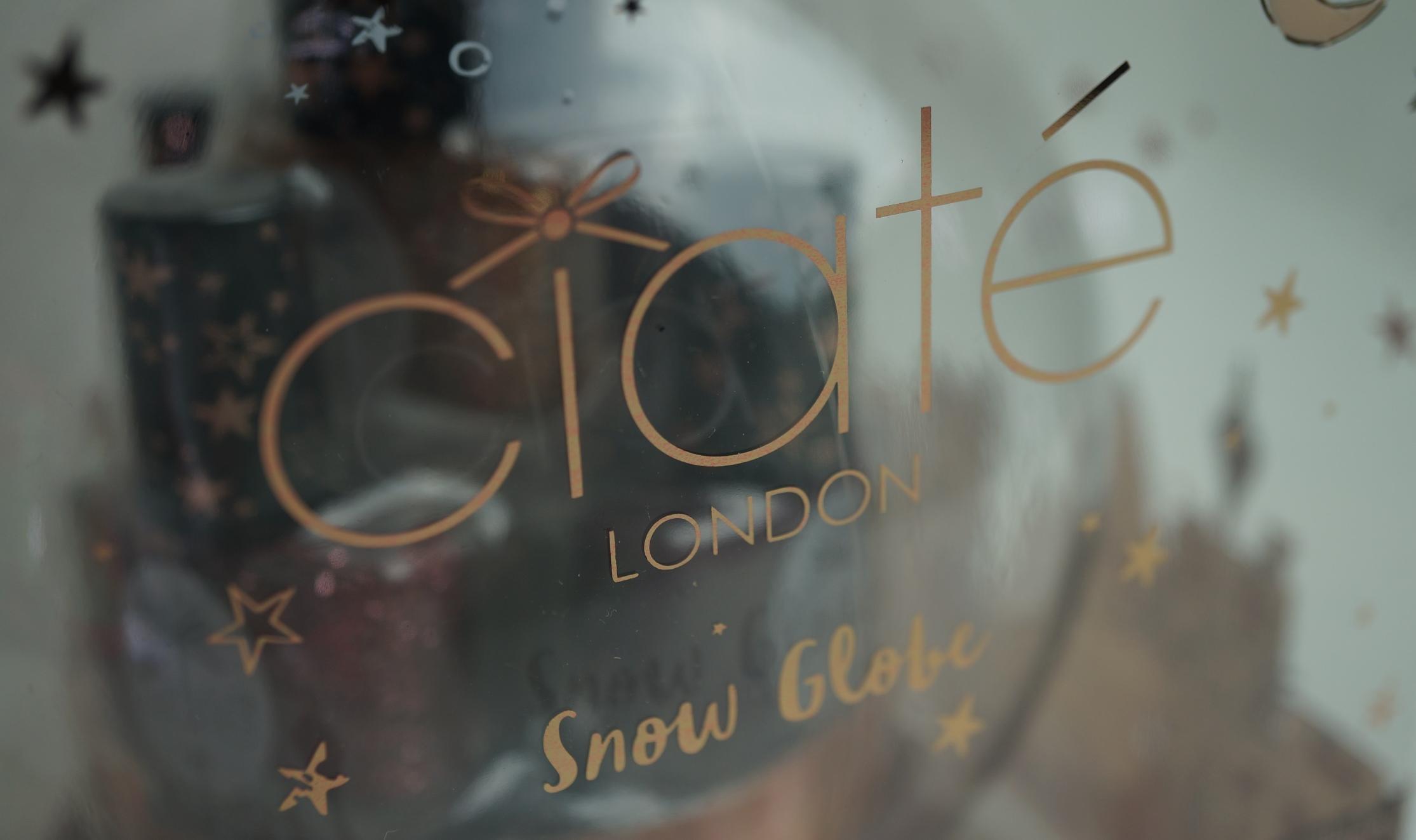ciate snow globe